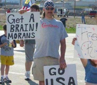 Redneck Spelling B Funny Image